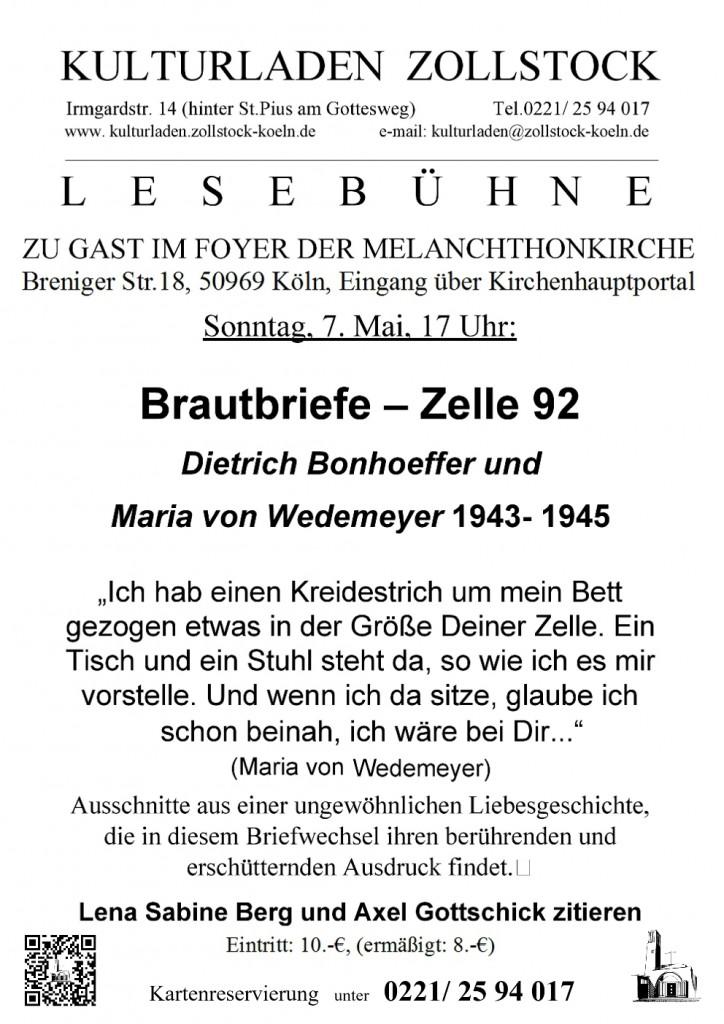 Bonhoefferplakat